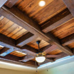 Coffered Ceiling in Master