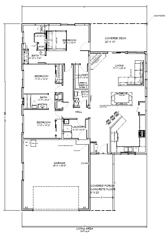 91 Morro Simplified Floorplan